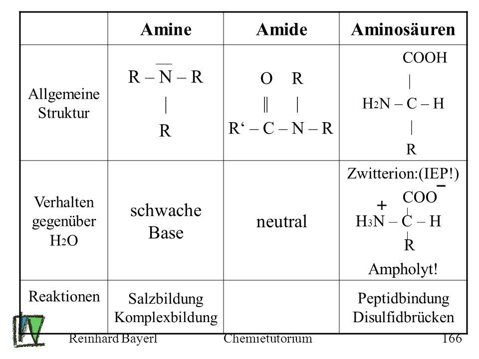 Amine Amide Aminosäuren