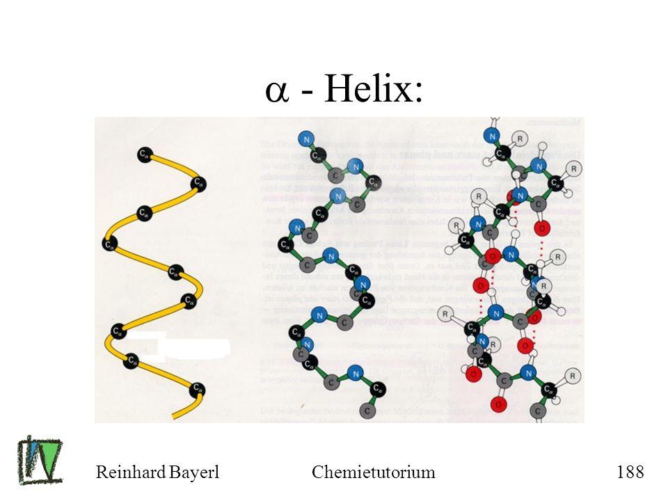 - Helix: Reinhard Bayerl Chemietutorium