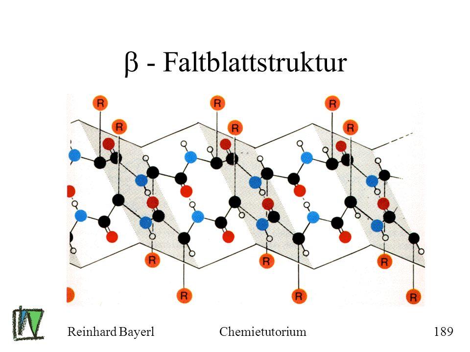  - Faltblattstruktur Reinhard Bayerl Chemietutorium