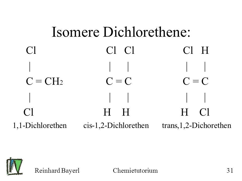 Isomere Dichlorethene: