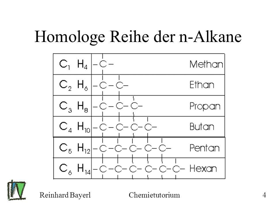 Homologe Reihe der n-Alkane