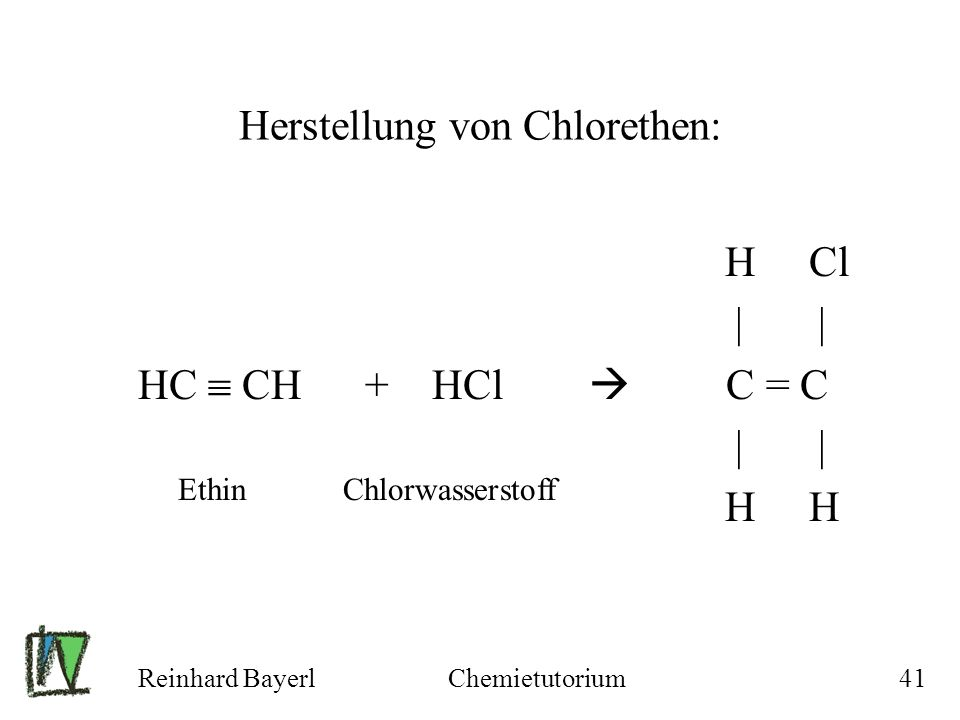 Herstellung von Chlorethen: