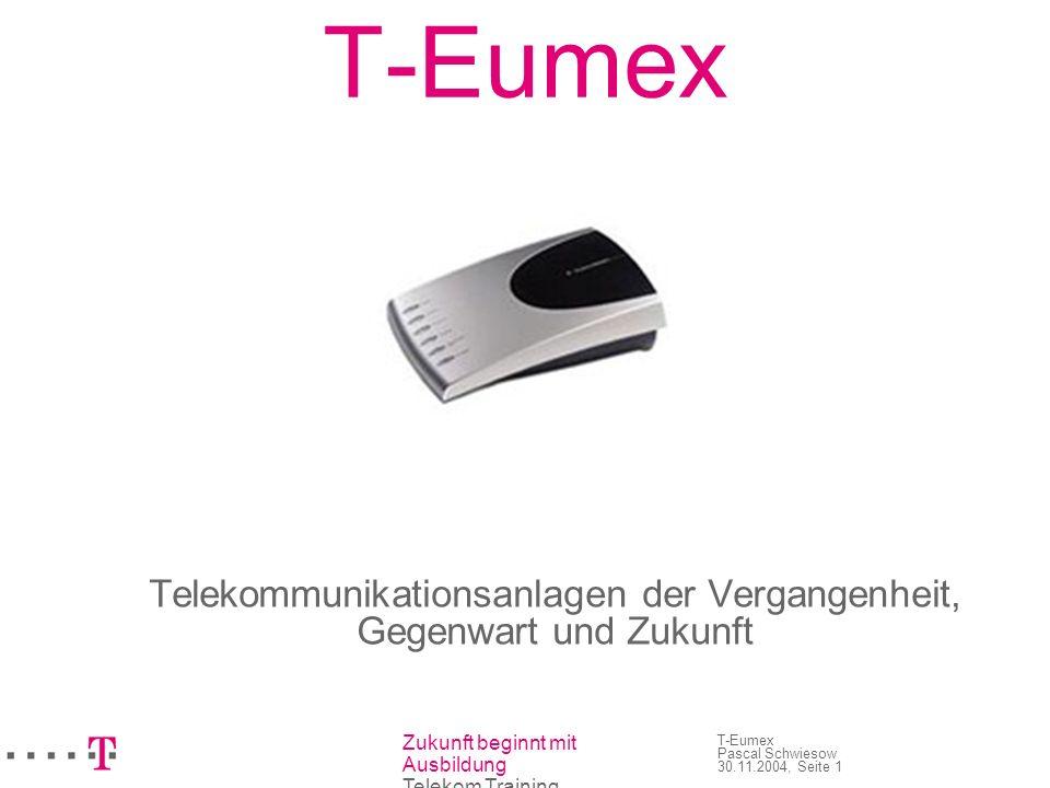 Telekommunikationsanlagen der Vergangenheit, Gegenwart und Zukunft