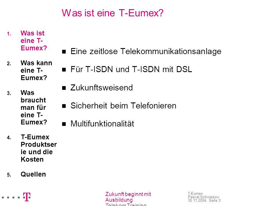 Was ist eine T-Eumex Eine zeitlose Telekommunikationsanlage