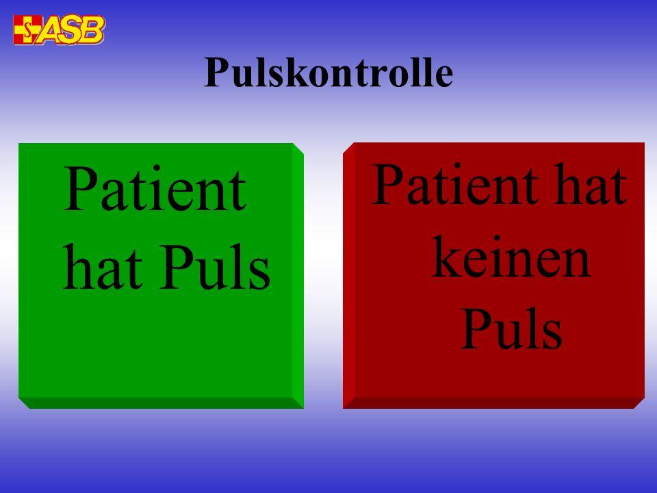 Patient hat keinen Puls