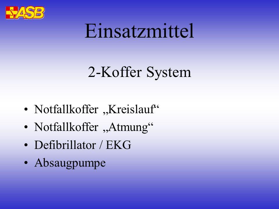 """Einsatzmittel 2-Koffer System Notfallkoffer """"Kreislauf"""