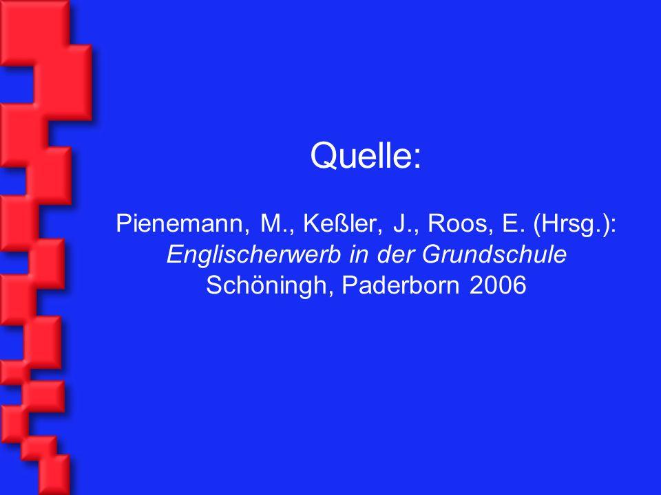 Quelle: Pienemann, M. , Keßler, J. , Roos, E. (Hrsg