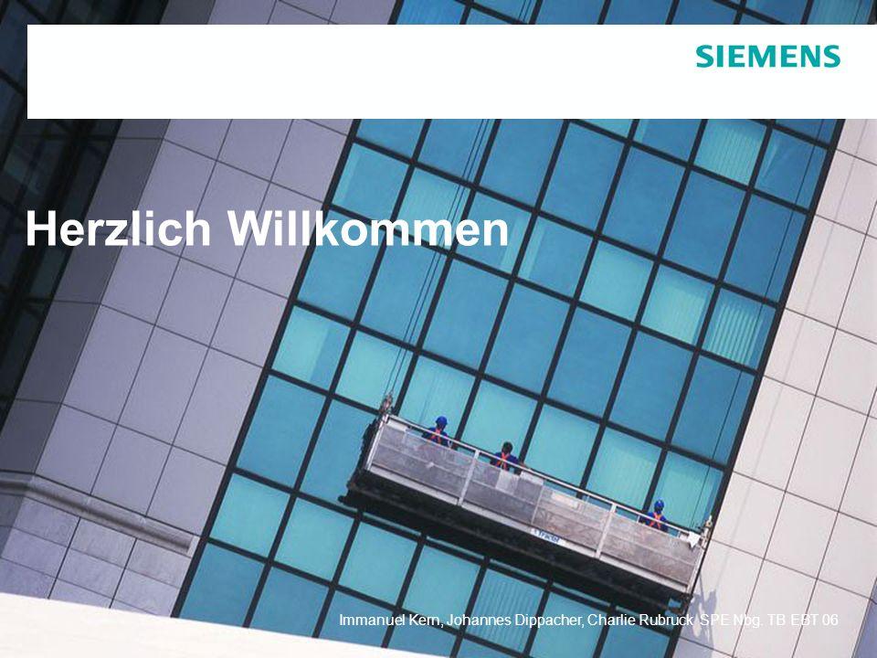 Herzlich Willkommen Immanuel Kern, Johannes Dippacher, Charlie Rubruck SPE Nbg. TB EBT 06