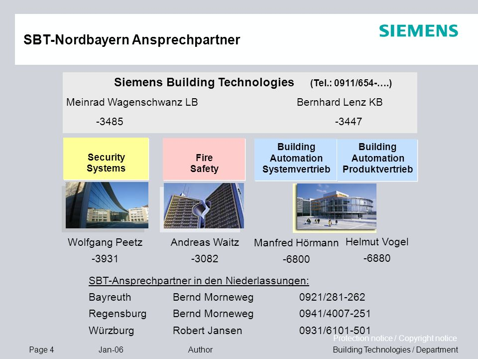 Building Automation Systemvertrieb Building Automation Produktvertrieb