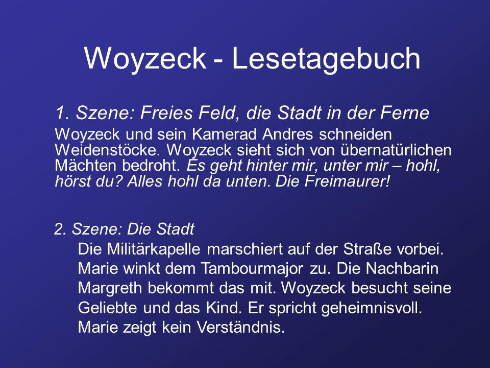 Woyzeck - Lesetagebuch