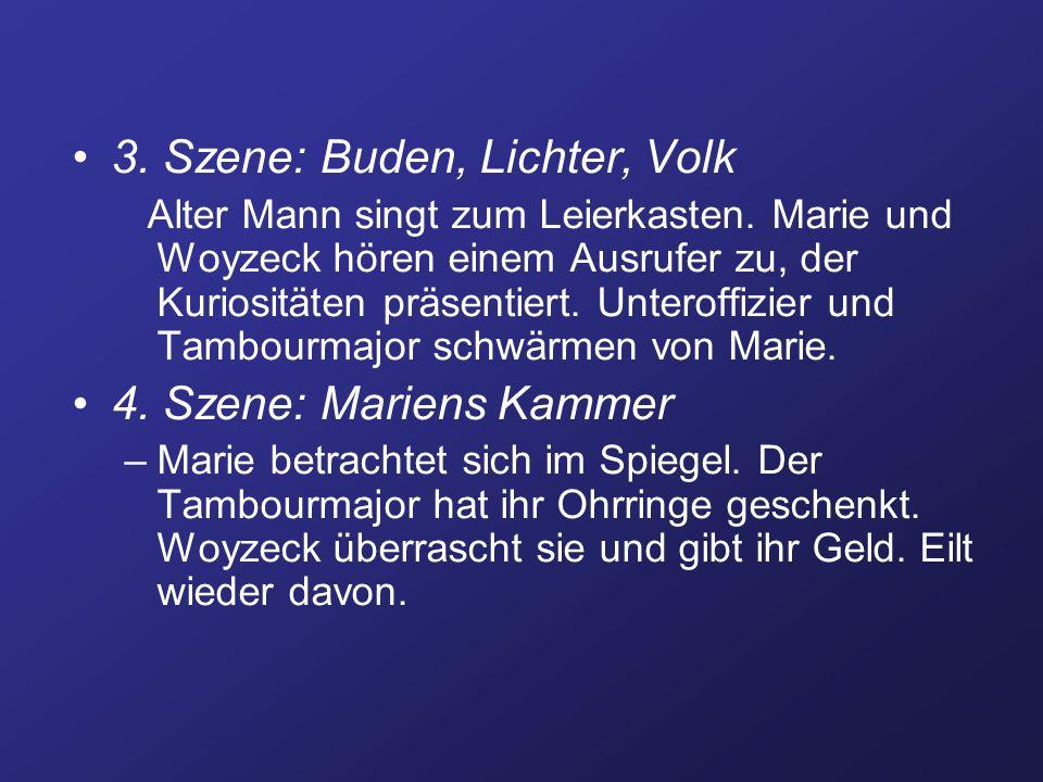 3. Szene: Buden, Lichter, Volk