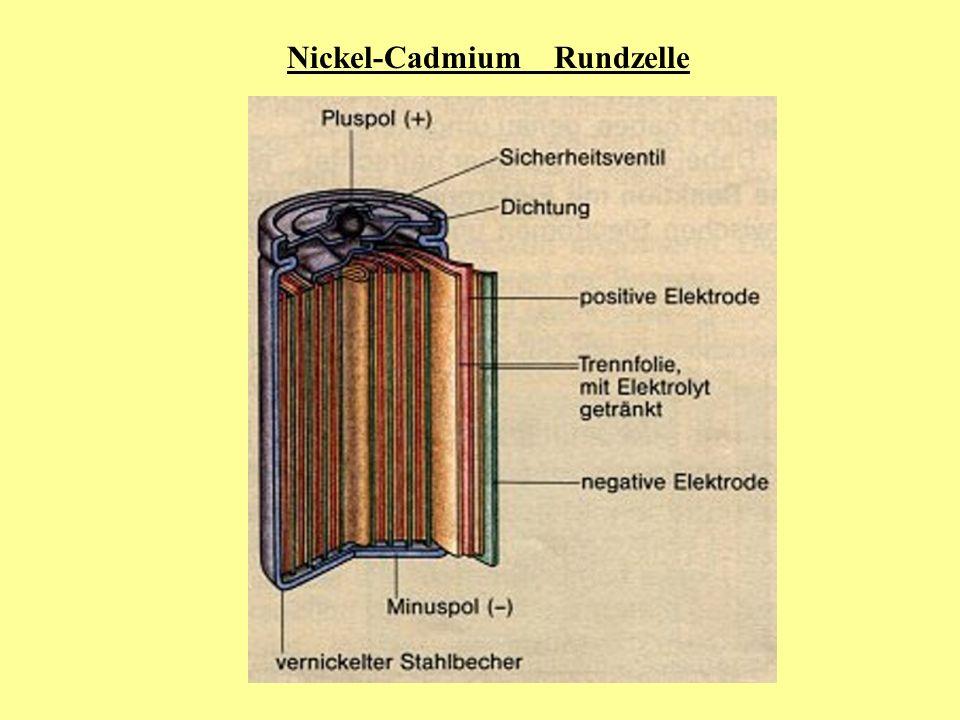 Nickel-Cadmium Rundzelle