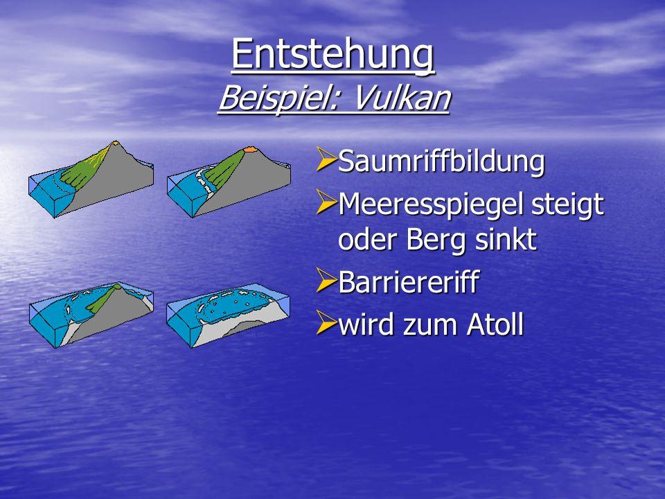 Entstehung Beispiel: Vulkan