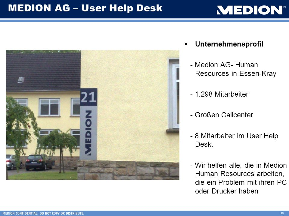 MEDION AG – User Help Desk