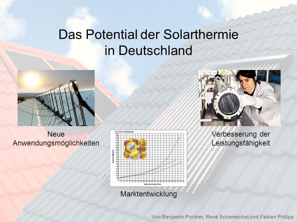 Das Potential der Solarthermie in Deutschland