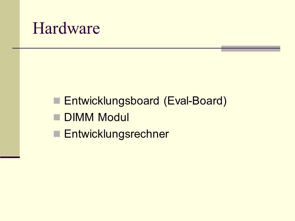 Hardware Entwicklungsboard (Eval-Board) DIMM Modul Entwicklungsrechner
