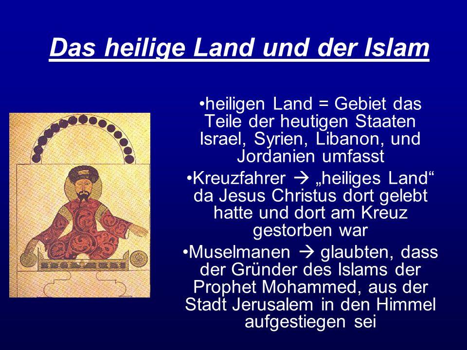 Das heilige Land und der Islam