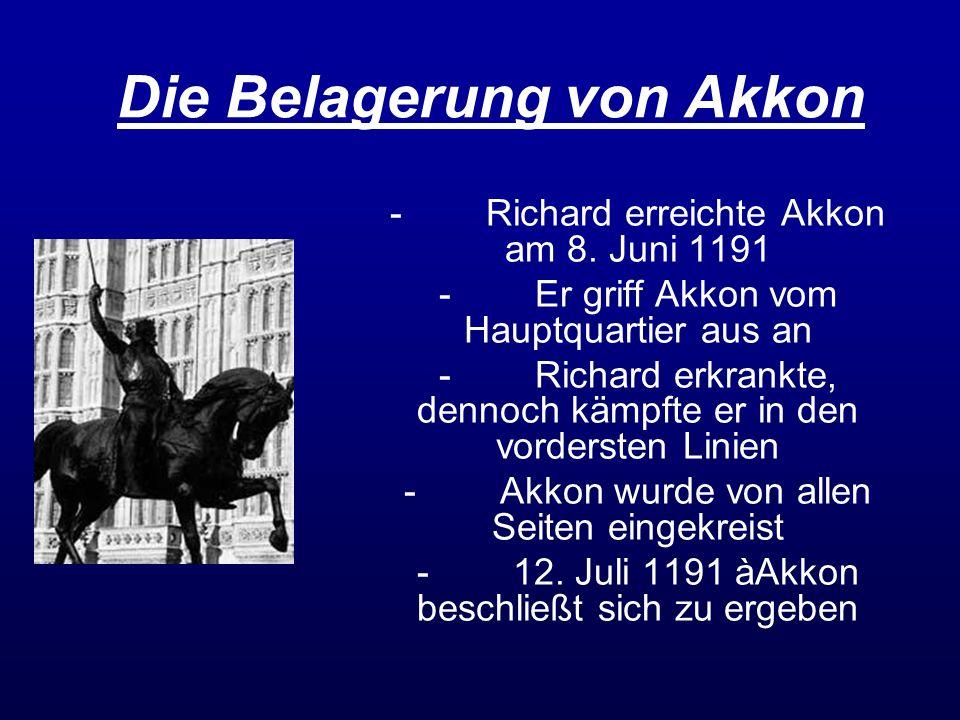 Die Belagerung von Akkon