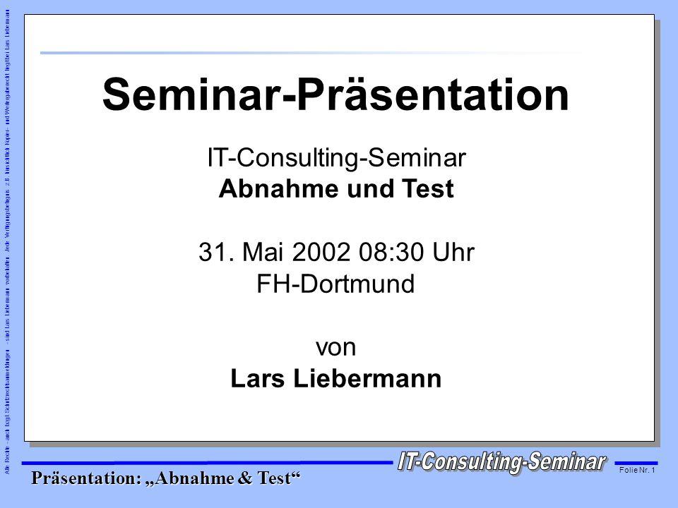 Seminar-Präsentation