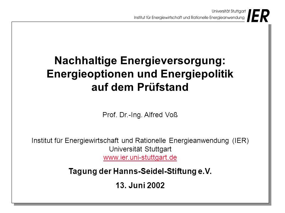 Tagung der Hanns-Seidel-Stiftung e.V.