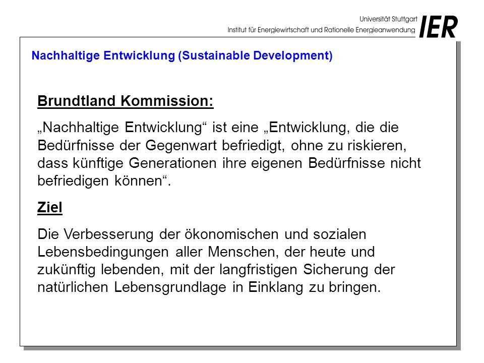 Brundtland Kommission: