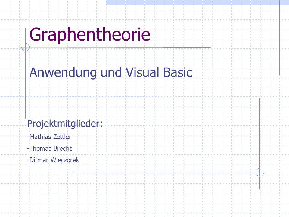 Anwendung und Visual Basic