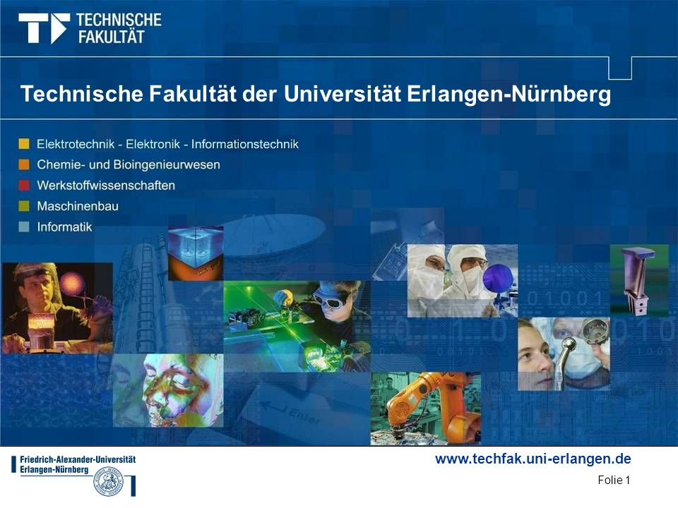 Technische Fakultät der Universität Erlangen-Nürnberg