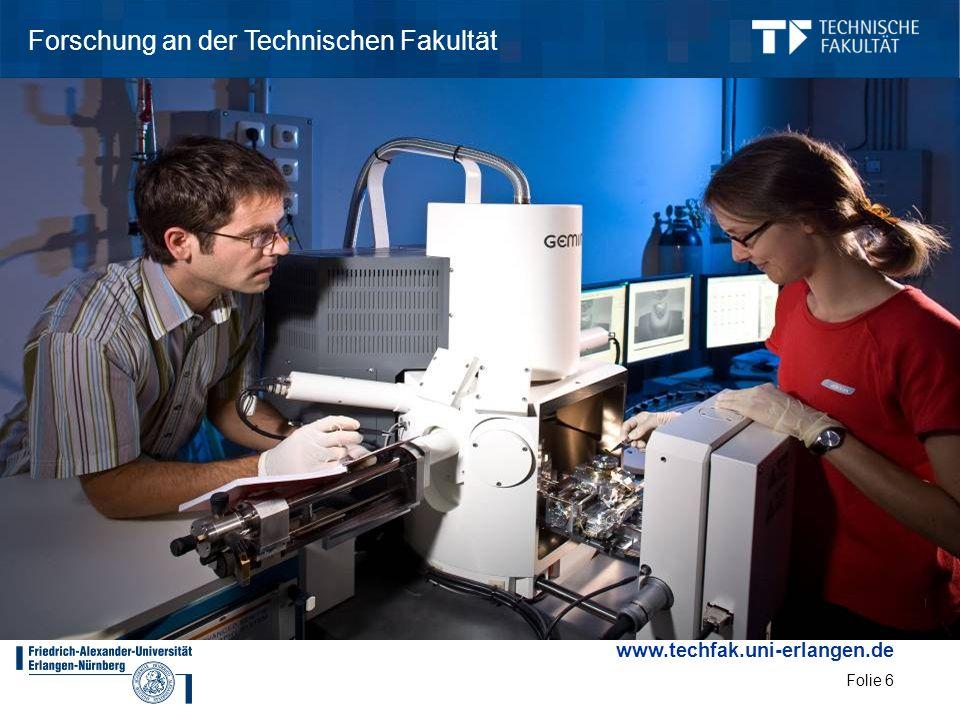 Forschung an der Technischen Fakultät