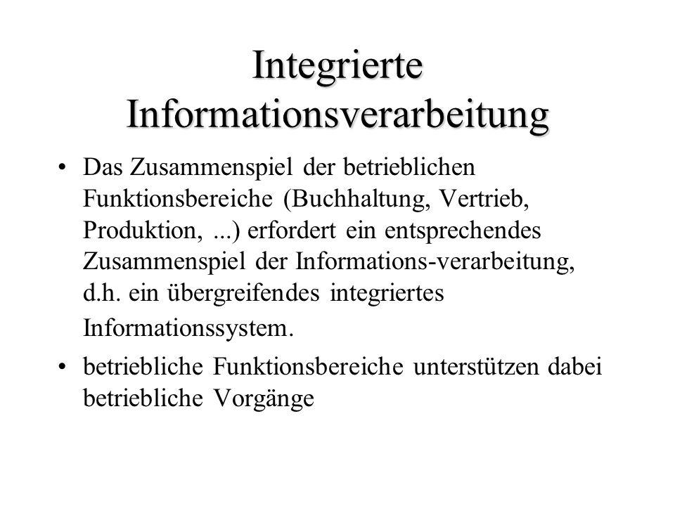 Integrierte Informationsverarbeitung