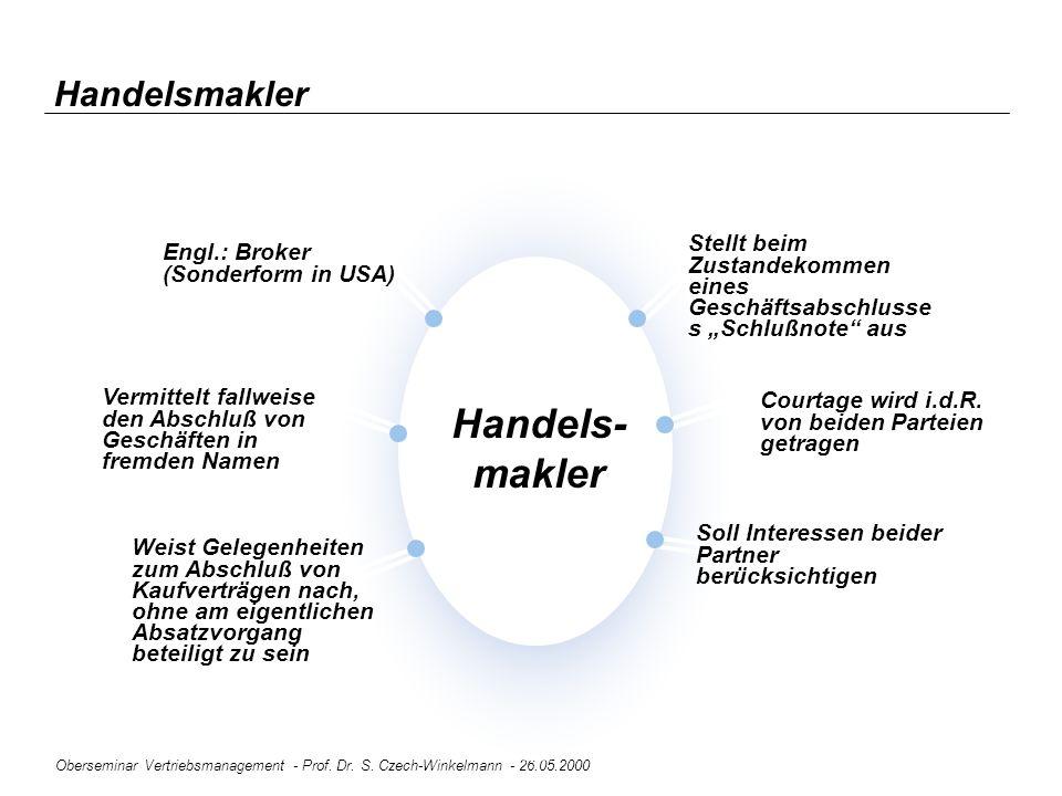 Handels- makler Handelsmakler