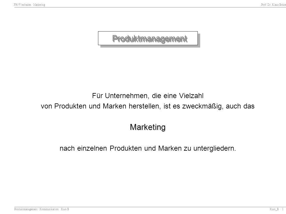 Produktmanagement Marketing Für Unternehmen, die eine Vielzahl