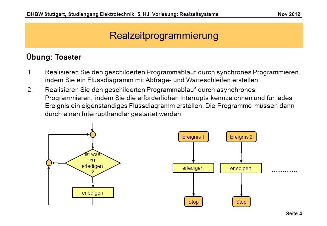 Realzeitprogrammierung