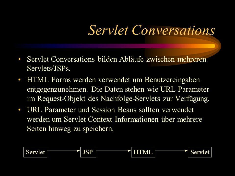 Servlet Conversations