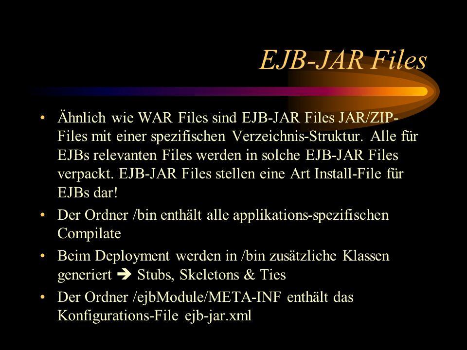 EJB-JAR Files