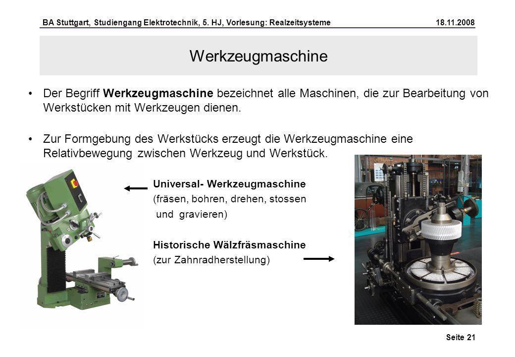 Werkzeugmaschine Der Begriff Werkzeugmaschine bezeichnet alle Maschinen, die zur Bearbeitung von Werkstücken mit Werkzeugen dienen.