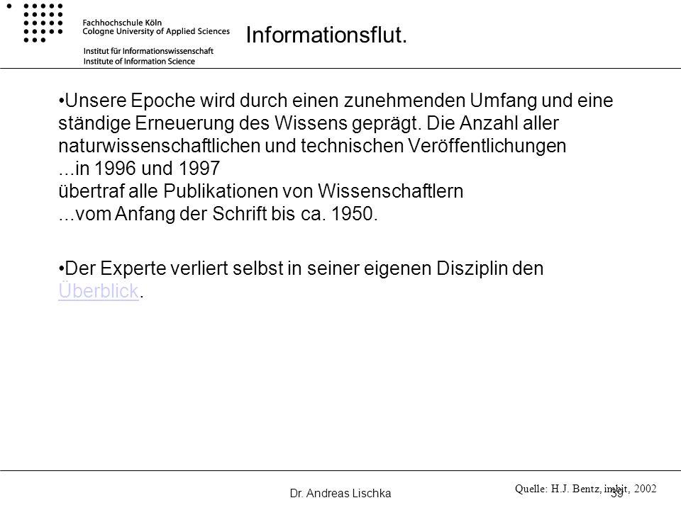 Informationsflut.