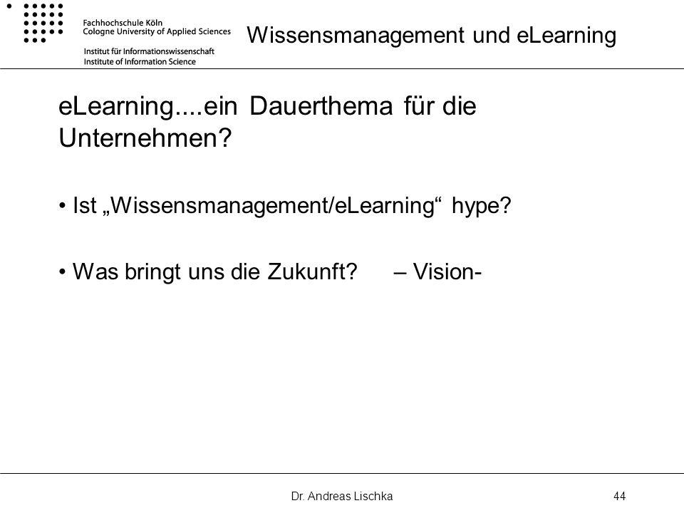 Wissensmanagement und eLearning