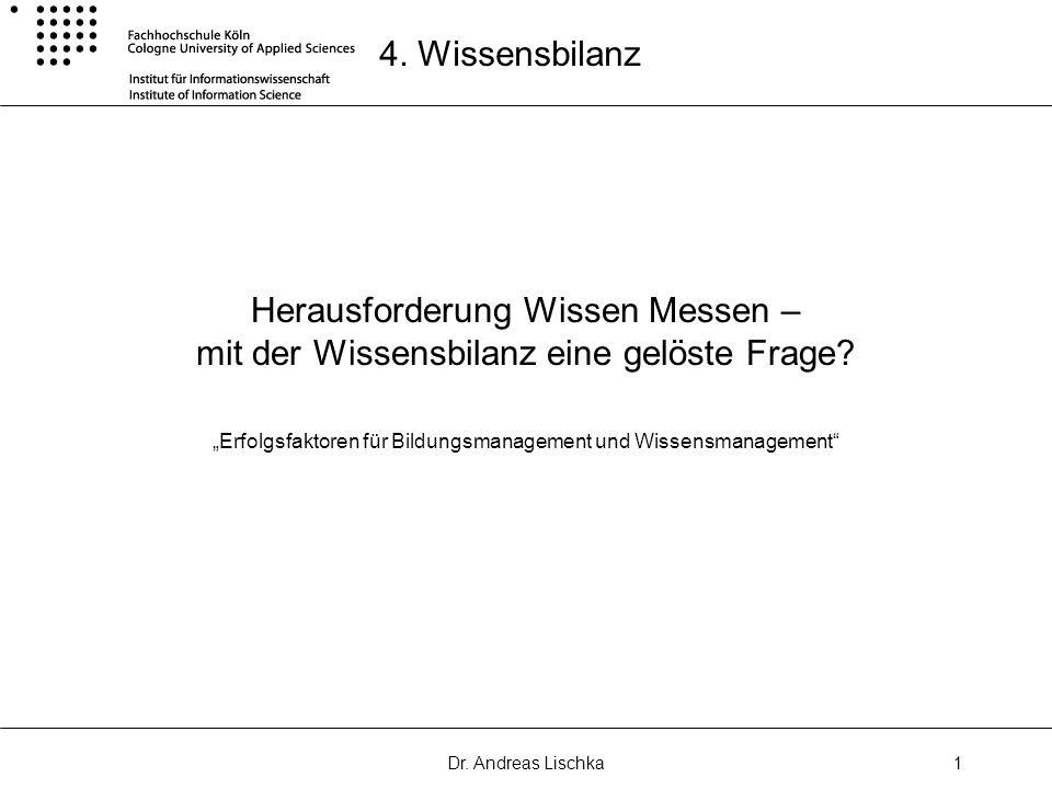"""""""Erfolgsfaktoren für Bildungsmanagement und Wissensmanagement"""