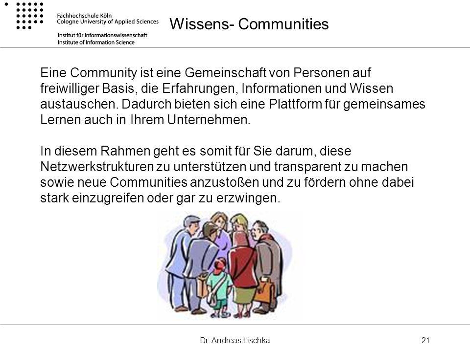 Wissens- Communities
