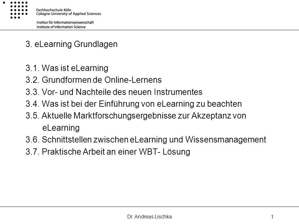 3.2. Grundformen de Online-Lernens