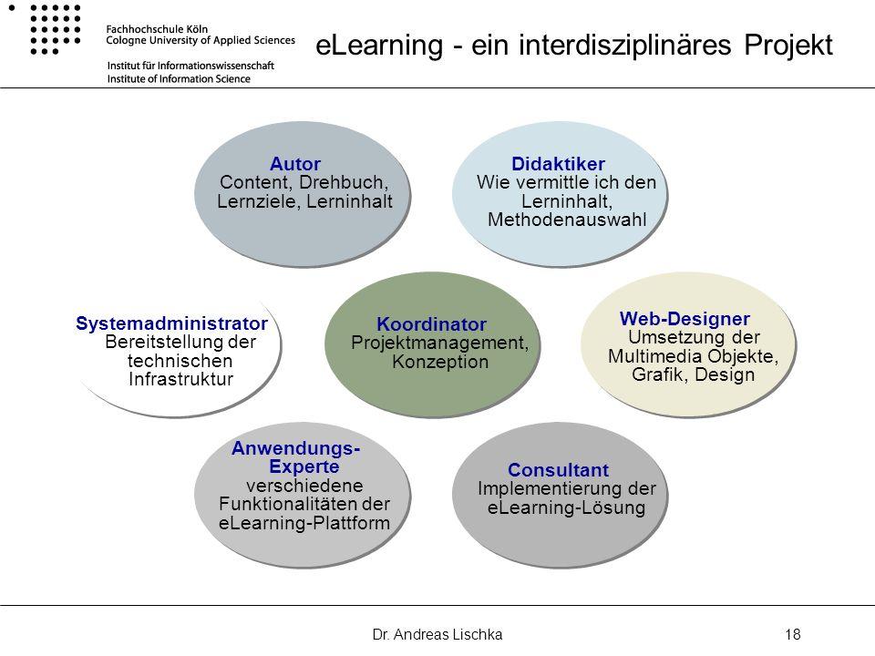 eLearning - ein interdisziplinäres Projekt