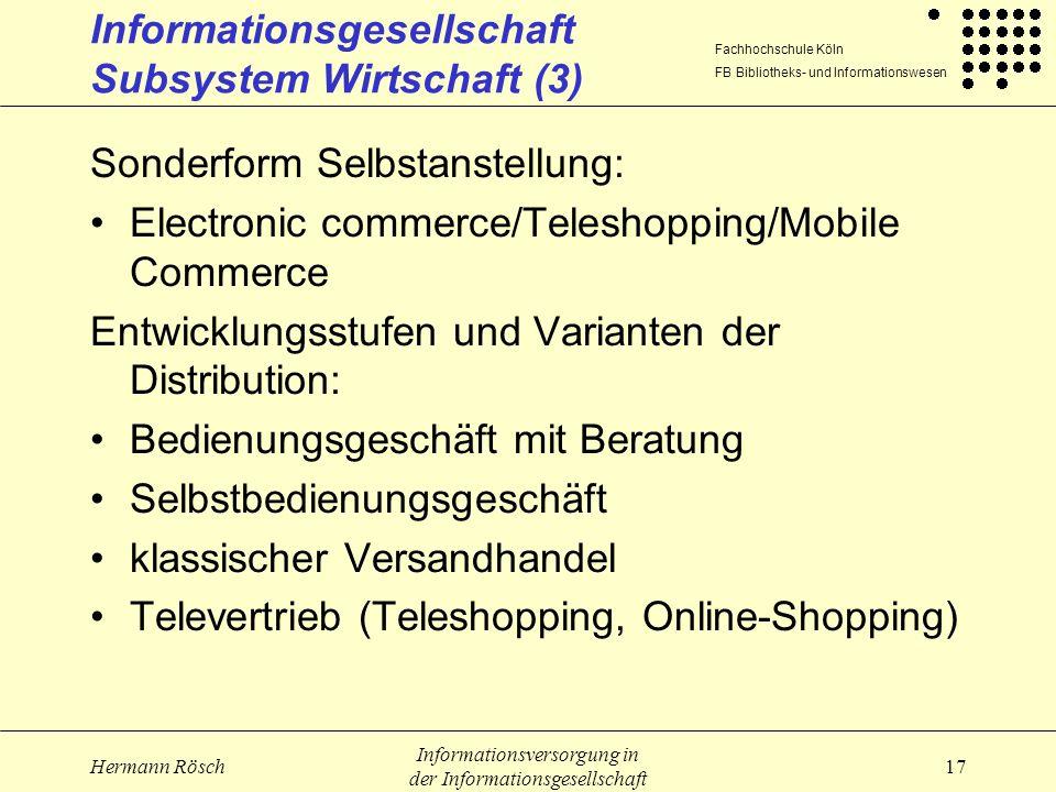 Informationsgesellschaft Subsystem Wirtschaft (3)