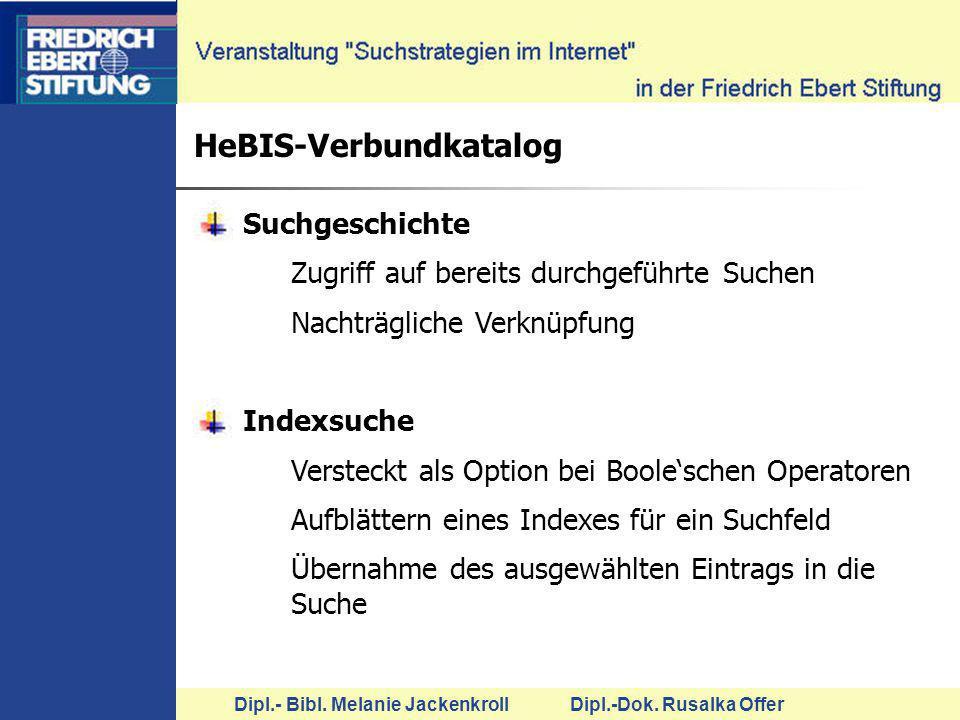 HeBIS-Verbundkatalog