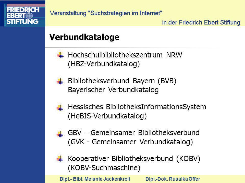 Verbundkataloge Hochschulbibliothekszentrum NRW (HBZ-Verbundkatalog)