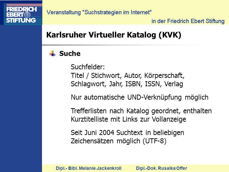 Karlsruher Virtueller Katalog (KVK)