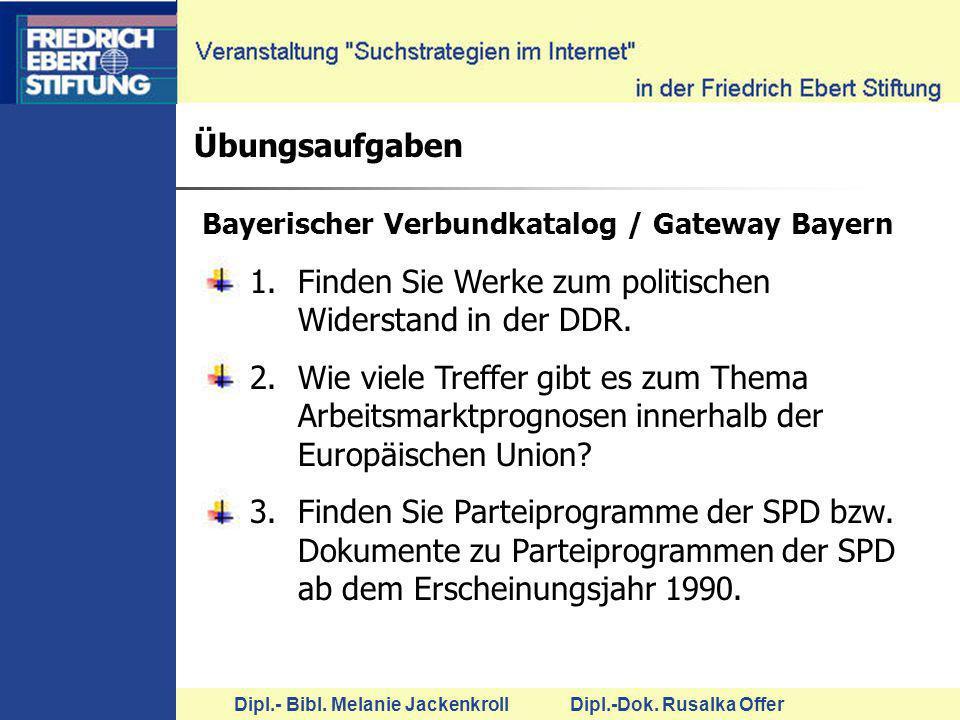 Finden Sie Werke zum politischen Widerstand in der DDR.