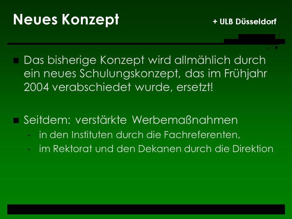 Neues Konzept + ULB Düsseldorf