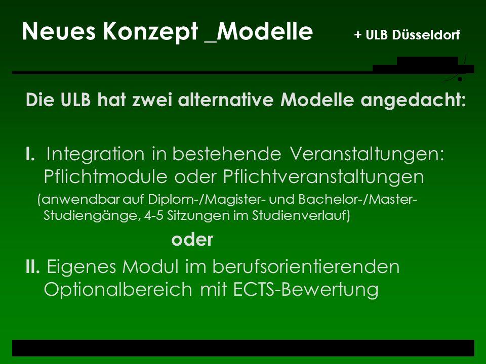 Neues Konzept _Modelle + ULB Düsseldorf