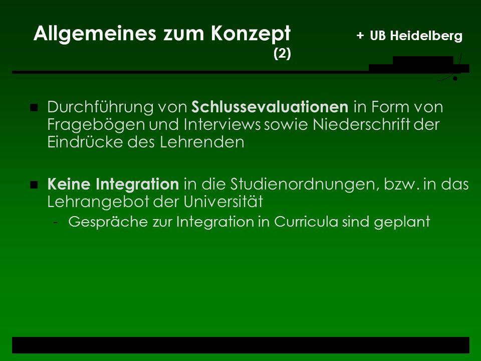 Allgemeines zum Konzept + UB Heidelberg (2)