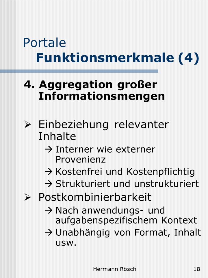 Portale Funktionsmerkmale (4)